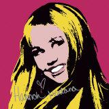 Hannah Montana: Secret Pop Star (hot pink) Reproduction d'art