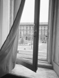 View from La Scala Opera Window  Milano  Italy