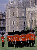Changing of Guards  River Thames  London  Windsor  England