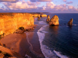Morning at 12 Apostles  Great Ocean Road  Port Campbell National Park  Victoria  Australia