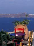 Terrace with Sea View  Santorini  Greece
