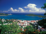 View from Paradise Point  Charlotte Amalie  St Thomas  Caribbean