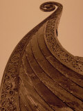 Detail of Viking Ship  Norway