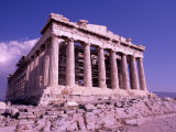 The Parthenon on the Acropolis  Ancient Greek Architecture  Athens  Greece