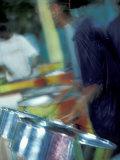 Steel Drums  Port of Spain  Trinidad  Caribbean
