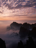 Morning Mist on Mt Huangshan (Yellow Mountain)  China
