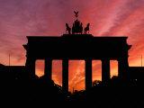Brandenburg Gate  Unter Den Linden  Berlin  Germany