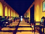 El Convento Hotel  Patio del Nispero  Courtyard  San Juan  Puerto Rico