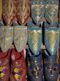 Traditionally Embroidered Babouches  Morocco