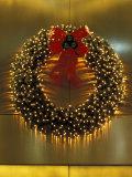 Christmas Decorations in Midtown Manhattan  New York  USA