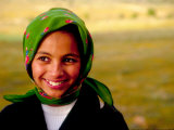 Portrait of Young Moroccan Woman  Morocco