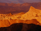 Sunrise at Zabriskie Point  Death Valley National Park  California  USA