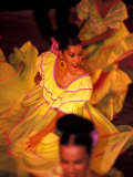 Floor Show at Xcaret  Riviera Maya  Mexico
