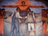 Murals by Diego Rivera  Secretary of Public Education  Mexico