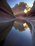 Coyote Butte Landscape  Vermilion Cliffs  Utah  USA