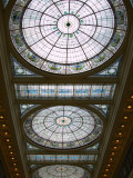 Skylights in Penn Station  Baltimore  Maryland  USA