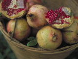 Basket of Pomegranate  Oaxaca  Mexico