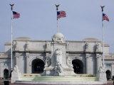 Chistopher Columbus Fountain  Union Station  Washington DC  USA