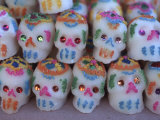 Day of the Dead  Sugar Skull Candy at Abastos Market  Oaxaca  Mexico