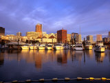 Waterfront of the Willamette River  Portland  Oregon  USA