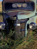 Old Truck in Field  Gennesse  Idaho  USA