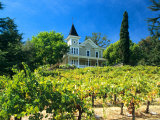 Victorian St Clement Winery  St Helen  Napa Valley Wine Country  California  USA