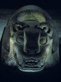 Jaguar-Shaped Receptacle for Hearts of Sacrifice Victims  Templo Mayor  Aztec  Mexico