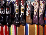 Cowboy Boots Detail  Santa Fe  New Mexico  USA