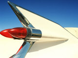 Close-up of Fin and Taillight on Classic Car
