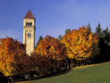 Clock Tower at Riverside Park  Spokane  Washington  USA