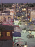 Night Street Scene  San Miguel  Cozumel Island  Quintana Roo  Mexico