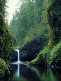 Punch Bowl Falls  Eagle Creek  Columbia River Gorge Scenic Area  Oregon  USA