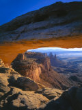 Mesa Arch at Sunrise  Island in the Sky  Canyonlands National Park  Utah  USA