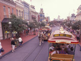 Main Street USA  Walt Disney World  Magic Kingdom  Orlando  Florida  USA