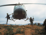 Action Operation Pegasus: American Soldiers Aiding S Vietnamese Forces to Lift Siege of Khe Sanh