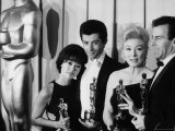 Rita Moreno and George Chakiris Winners of Best Supporting Actor Oscars for &quot;West Side Story&quot;