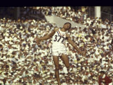Greg Bell Competing in the Long Jump at the Summer Olympics
