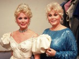 Actresses/Sisters Eva and Zsa Zsa Gabor
