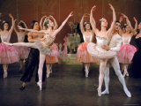 Ballerina Maria Tallchief and Others Performing the Nutcracker Ballet at City Center