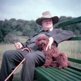Winston Churchill and Pet Dog