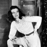 "Actress Katharine Hepburn on the Set of Her Broadway Play ""The Philadelphia Story"""