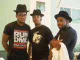 Rap Group Run DMC: Darryl McDaniels  Joe Simmons and Jason Mizell