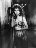 "Sophia Loren Wearing Costume  Talking on Telephone During Scene in ""Marriage  Italian Style"""