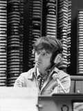 Disc Jockey Don Imus in the Studio