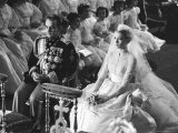 Wedding of Prince Rainier of Monaco to American Actress Grace Kelly