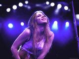 Singer Fiona Apple Performing