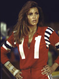 "Actress Raquel Welch in Uniform During Filming of Motion Picture ""The Kansas City Bomber"""