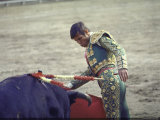 Bullfighter Manuel Benitez  Known as &quot;El Cordobes&quot;  in the Ring