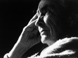 Pensive Portrait of Artist Georgia O&#39;Keeffe