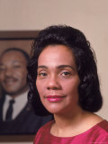 Coretta Scott King  Widow of Civil Rights Leader Martin Luther King  Jr